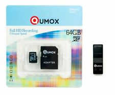 QUMOX 64GB MICRO SD CLASS 10 UHS-I 64 GB SPEICHERKARTE R mit USB OTG Kartenleser