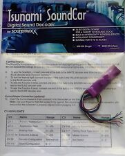 DCC Soundtraxx Tsunami SoundCar Digital Sound Decoder - passenger & freight cars