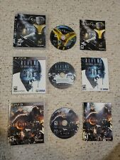 Lot Of 3 Ps3 Games: Aliens colonial marines, Lost planet 2 , & Timeshift