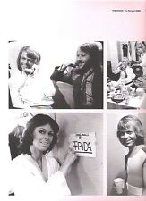 ABBA 'Frida's room' magazine PHOTO/Poster/clipping 11x8 inches