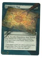 Expedition Map Altered Full Art MTG Magic Commander EDH Pimp Birthday Gift