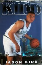 RARE JASON KIDD MAVARICKS 1995 VINTAGE ORIGINAL NBA COSTACOS BROTHERS POSTER