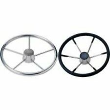 "BOAT STEERING WHEEL SS 15"" W/FOAM COVER"