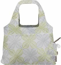 ChicoBag Vita Contemporary Collection Reusable Shopping Tote Grocery Bag Leaf Sq