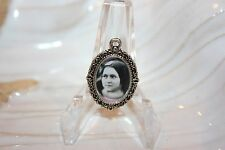 Silver Medal to add to Rosaries/Bracelets/Zipper Pulls/St. Therese Child Jesus
