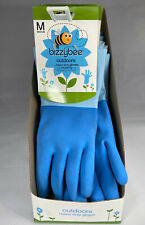 GARDENING GLOVES Outdoor Lined Rubber Gloves Display Box 10PAIRS M Wholesale