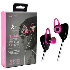 Kitsound Trail Sorts Écouteurs Bluetooth sans fil Casque Écouteur - Noir/rose