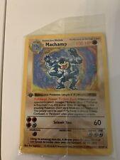 Pokémon 1st edition shadowless Machamp sealed MINT PSA ready