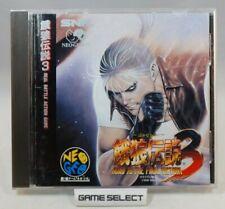 FATAL FURY 3 ROAD TO THE FINAL VICTORY NEO GEO CD NEOGEO SNK JP JAP GIAPPONESE