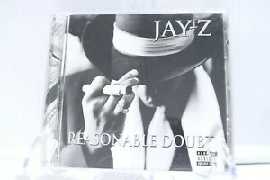 JAY-Z Reasonable Doubt 1996 1998 Roc-a-Fella Priority Music CD Explicit Rap