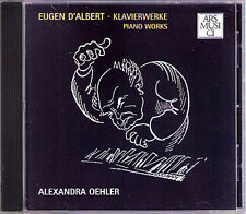 Alexandra OEHLER: Eugen D'ALBERT Suite 5 Bagatellen Albumblatt CARRENO Valse CD