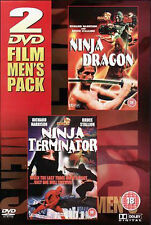 Ninja Dragon & Ninja Termintor - Martial Arts DVD NEW