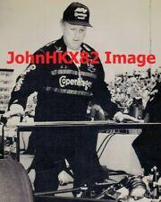 VINTAGE 1990 INDY 500 AJ FOYT PRACTICE PHOTO - CHEVROLET POWERED #14