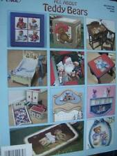 All About Teddy Bears Painting Book-Wakefield-11 Projects Sports/Carousel/& Sant