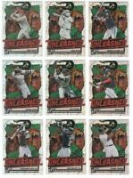 2021 Donruss Baseball UNLEASHED VECTOR Prizm Complete Set Tatis Trout Ruth Acuna