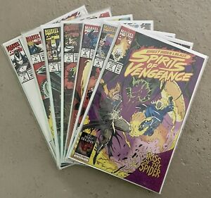 Marvel Comics Ghost Rider & Blaze Spirits of Vengeance NM Issues 3,4,5,7,8,9,11