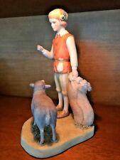 Cybis Porcelain Figurine Baa Baa Black Sheep