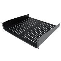 StarTech.com 2U 19 Inch 50lbs  22kg Universal Vented Rack Mount Cantilever with