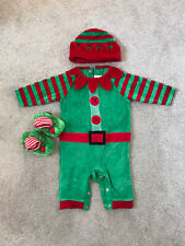 Baby Christmas Outfit 3-6 Months Elf Next