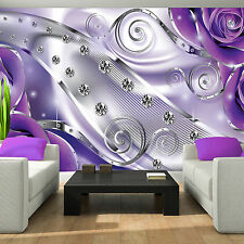 Fototapete wohnzimmer lila  Lila Tapeten | eBay