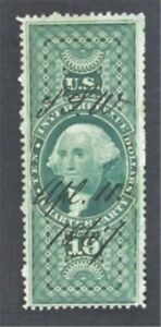 nystamps US Revenue Stamp # R93c Used         O8y1508