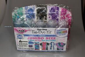 Tulip One Step Tie Dye Kit 54 pc Jumbo Size Carousel New Factory Sealed