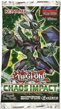 Chaos Impact Booster Pack 1st Edition Factory Sealed New Yu-Gi-Oh! Pre-Order