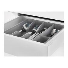 "NEW IKEA FLATWARE KITCHEN TRAY ORGANIZER STORAGE utensil HOLDER 12x10"" GRAY"
