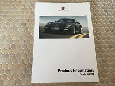 PORSCHE 911 997 GT2 TECHNICAL PRODUCT INFORMATION MANUAL BROCHURE 2008-2009 USA