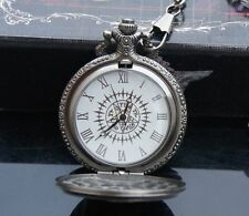 Black butler / Kuroshitsuji Sebastian Pocket Watch cosplay new