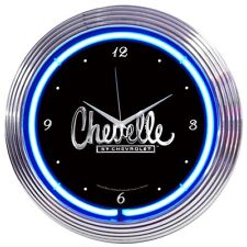 Chevelle Neon Clock 8CHEVEL w/ FREE Shipping