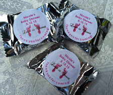 120 FOOTPRINT BABY Shower stickers to make York Peppermint Patty favors IDEA