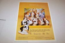 Vintage - DAN DEE IMPORTS TOYS - PUPPY FOR SALE - ad sheet #0446