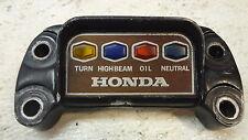 1974 Honda CB750 CB 750 4 four H488-1' indicator panel cluster