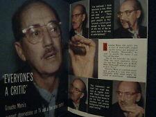 4/27/1957 TV Guide (GROUCHO  MARX/ABBE LANE/BRODERICK CRAWFORD/JOANNA  DRU/CLEO)