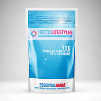 TRIBULUS TERRESTRIS CAPSULES - 120 x 6500mg 95% Saponins - Testosterone booster
