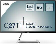 AOC Monitor Q27T1 Studio F.A. Porsche LED-Display 68,6 cm 27 Zoll  silber WQHD
