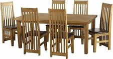 Wooden Up to 6 Seats Table & Chair Sets with 4 Pieces