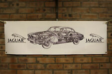 jaguar mkx 420g large 1pvc heavy duty WORK SHOP BANNER garage   SHOW