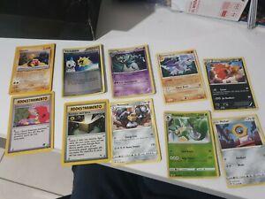 10 x Pokemon Cards