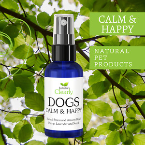 Clearly CALM & HAPPY, Calming Oil for Dogs with Hemp