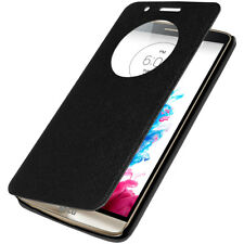 AMZER Flip Case with Quick Circle View - Black For LG G3 D855