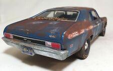 1969 Yenko Chevy Nova Barn Find 1/18 Custom Weathered Unrestored Auto World