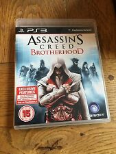 ASSASSIN'S CREED FRATELLANZA (non sigillata) - PS3 UK Versione Nuovo!