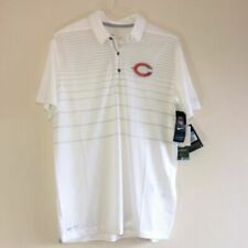 New Nike Chicago Bears Men Sz M White NFL Polo Shirt