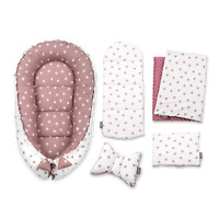 Sleepyhead Baby Nest Set Newborn Cocoon Infant Bedding Set Blush Flowers