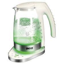 UNOLD 18580 cahuffe-eau ULTRA RAPIDE verre Electronique bouilloire sans fil 2300