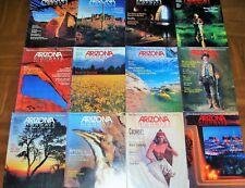1991 ARIZONA HIGHWAYS -COMPLETE FULL YEAR-LOT OF TWELVE (12 )-JANUARY - DECEMBER
