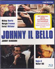 Blu-ray **JOHNNY IL BELLO** con Mickey Rourke nuovo slipcase 1989