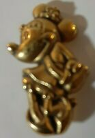 Disney Minnie Mouse Bronze Mini Pin